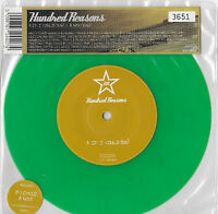 """HUNDRED REASONS * IF I COULD * NUMBERED (3651) GREEN VINYL 7"""" SINGLE PLAYS GREAT"""