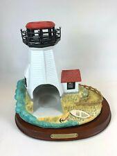 New ListingPorcelain Plymouth Light Lighthouse Tea light Sculpture PartyLite
