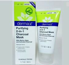 Derma e Purifying 2-in-1 Charcoal Mask, 1.7 oz - Deep Detox for your Skin