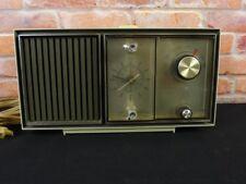 Vintage GE General Electric Clock Radio Lighted Dial