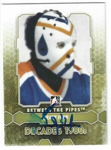 Grant Fuhr Signed 2012/13 Between The Pipes Card #130 Edmonton Oilers