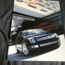 2006 Ford Fusion Sedans Color Brochure Catalog Prospekt