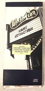 White Lion Mane Attraction Long box 1991 Atlantic Empty Longbox Hype Sticker