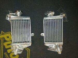 2015 ktm 65 sx  aluminium radiators
