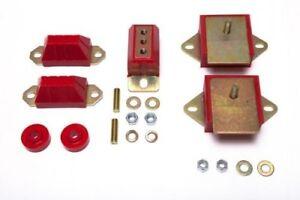 Prothane 1-1901 Motor & Transmission Mount Kit 76-86 CJ5 CJ7 258CI 6 Cyl Poly