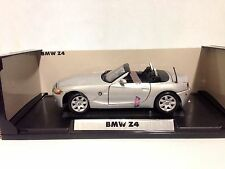 Bmw Z4 Collectibles, 9 inch Diecast, 1:18 Scale By MotorMax Toys, Silver