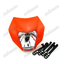 Dirt Bike Headlight Fairing For KTM SXF EXC XC MXC 250 450 520 525 530 Motocross