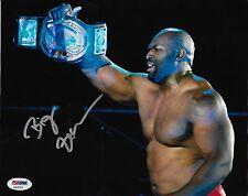 Ezekiel Jackson Signed WWE 8x10 Photo PSA/DNA COA Lucha Underground Picture Auto