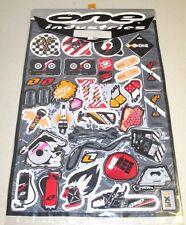 "New One Industries Bionic Graphic Sheet Decals Stickers DE-SHBI 18"" X 12"""