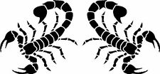 Tribal Scorpion Car Van Land Rover Window Stickers #1