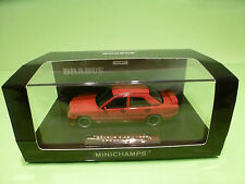 MINICHAMPS 32600 MERCEDES 190 BRABUS 3.6S 1988  - RED 1:43 NMIB limited 999 pcs