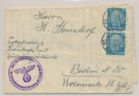 LM77321 Germany 1940 Reich to Berlin cover with nice cancels used