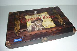 Der Schatz des Captain Kidd  -  Ein Abenteuerbuch mit Rätseln in der Schatzkiste