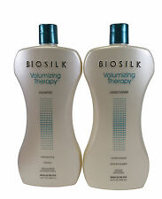 Biosilk Volumizing Therapy Shampoo And Conditioner Liter Duo 34 oz