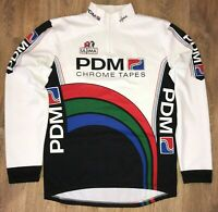 PDM Ultima RARE vintage long sleeve cycling jersey size XL