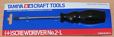 Tamiya 74006 JIS (+) Screwdriver No.2 Large, For Radio Control Car/Truck Kits