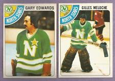 1978-79 OPC O-PEE-CHEE Minnesota North Stars Team Set