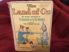 The Land Of Oz The Further Adventures of The Scarecrow and Tin Woodman 1904