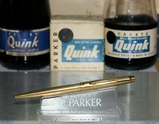 Parker 75 Ball Point - Imperial Gold with New Std Parker Refill - (P584)