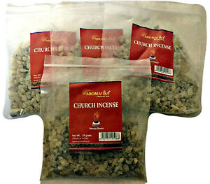 Church Incense Resin 100g Bulk Tree Gum (4 x 25g) use with Charcoal Disks