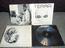 TERRA....THE TRAIN IS COMING....indie PENNA....AOR-HARD ROCK..RARE...1992
