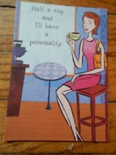 THANK YOU FOR ACCEPTING ME AS I AM GREETING CARD FOR WOMAN (MADE IN USA)