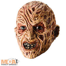 Freddy Krueger Adults Mask Fancy Dress Halloween Mens Horror Costume Accessory