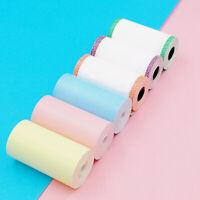 12pcs Multicolor Thermal Paper Rolls For PeriPage Mini Photo Printer Portable