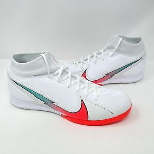 Nike Mercurial Superfly 7 Academy IC Soccer Shoe Crimson Mens Size 12 AT7975-163