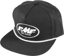 761a635084b FMF Scrub Snapback Hat-Black - Mens