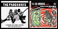 "7"" Value Pack! THE FADEAWAYS & ED WOODS/LOS CHAMPIONS Japan garage horror punk"