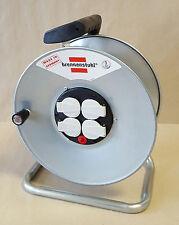 Brennenstuhl® Garant S 4 Kabeltrommel Stahl leer ohne Kabel 4x Schuko