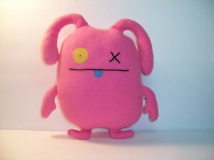 "UGLY DOLL - OX -  RARE 12"" Uglydoll Pink  - VGC"