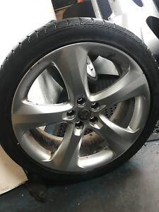 Vauxhall Astra 2010 To 2015 Petrol  Wheel Road Alloy With Tyre GENUINE #7137J