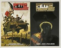 Peter Panzerfaust Volume 1 Great Escape Volume 2 Hooked Lot of 2 TPB Image