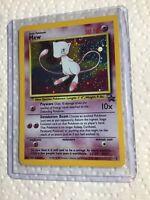 MEW 9 Black Star Promo WOTC HOLO Rare EXC/NEAR MINT Pokemon Card