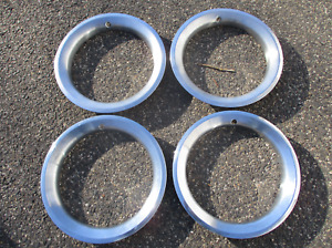 Genuine 1973 to 1987 Lemans Ventura 14 inch beauty trim rings