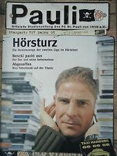Programm 2000/01 FC St. Pauli - FSV Mainz