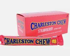 Charleston Chew Bars Strawberry, 24 count box,  53g each,  Full Size Bars