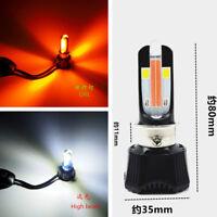 Motorrad Wasserdicht Dual-Farben LED Birnen DRL Hallo / Lo Strahl Scheinwerfer
