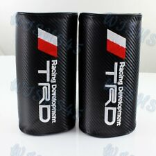 Car Neck Rest Pillow Headrest Cushion for TOYOTA TRD Carbon Look Embroidery 2PCS