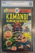 KAMANDI #37 Last Boy on Earth CBCS 9.6 not CGC DC Comics. Jack Kirby, Joe Kubert