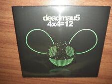 deadmau5 – 4x4=12. NEW & SEALED. Michael Woods mix. DJ Aero, SOFU. 11 tracks
