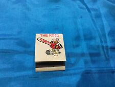 """Collectable Flip Matches """"THE KING HOMELITE"""" NEW, VERY GOOD CONDITION"""