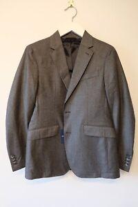 Hackett Sport Coat Blazer Prince of Wales Check Flannel 40R BNWT