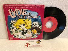 45T Générique Lydie et la Clé Magique Claude Lombard Ades Tour du Monde de 5 PRX