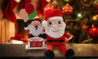 CHRISTMAS JOB LOT Mixed Brand New Xmas Festive Decorations Accessories Santa
