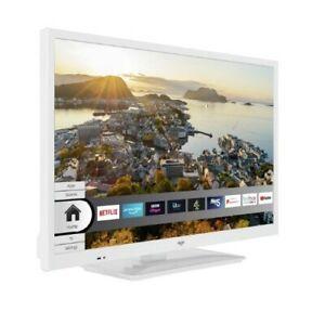 Bush 24 Inch HD LED 720p Smart TV / DVD Combi - White
