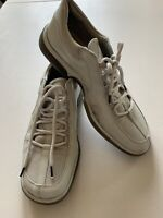 Authentic Alberto Guardiani Light Gray Man Leather shoes US 10 Made in Italy