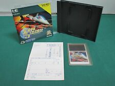 PC Engine HuCARD -- FINAL SOLDIER -- JAPAN. GAME Clean & Work fully. 11228